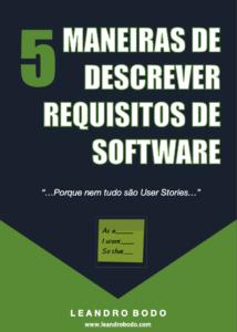 e-book cover - como escrever requisitos software
